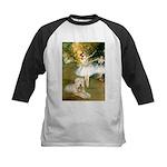 Dancer1/Wheaten T Kids Baseball Jersey