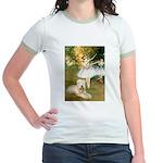 Dancer1/Wheaten T Jr. Ringer T-Shirt