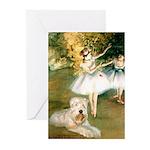 Dancer1/Wheaten T Greeting Cards (Pk of 10)