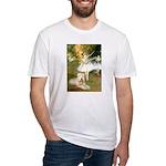 Dancer1/Wheaten T Fitted T-Shirt