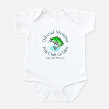 Fish Club for Men Infant Bodysuit