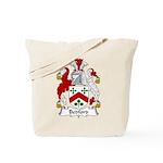 Bedford Family Crest Tote Bag