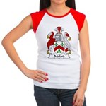 Bedford Family Crest Women's Cap Sleeve T-Shirt