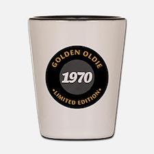 Birthday Born 1970 Limited Edition Shot Glass