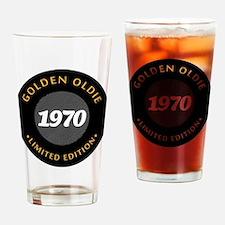 Birthday Born 1970 Limited Edition Drinking Glass