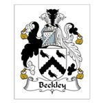 Beckley Family Crest Small Poster