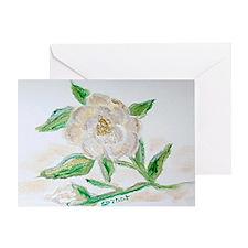 """Christmas Rose"" Greeting Card"