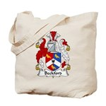 Beckford Family Crest  Tote Bag