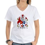 Beckford Family Crest  Women's V-Neck T-Shirt