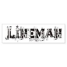 Lineman Bumper Bumper Sticker