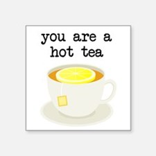 You are a Hot Tea Sticker