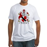 Beckering Family Crest  Fitted T-Shirt