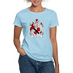 Beckering Family Crest  Women's Light T-Shirt