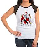 Beckering Family Crest  Women's Cap Sleeve T-Shirt