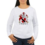 Beckering Family Crest  Women's Long Sleeve T-Shir