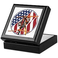 USA Lineman Keepsake Box