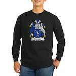 Beavan Family Crest Long Sleeve Dark T-Shirt