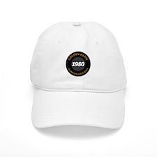 Birthday Born 1980 Limited Edition Baseball Cap