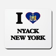 I love Nyack New York Mousepad