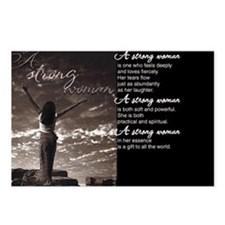 Strong Woman Postcards (Package of 8)