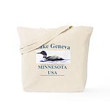 Alexandria minnesota Regular Canvas Tote Bag