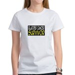 'Bladder Cancer Survivor' Women's T-Shirt