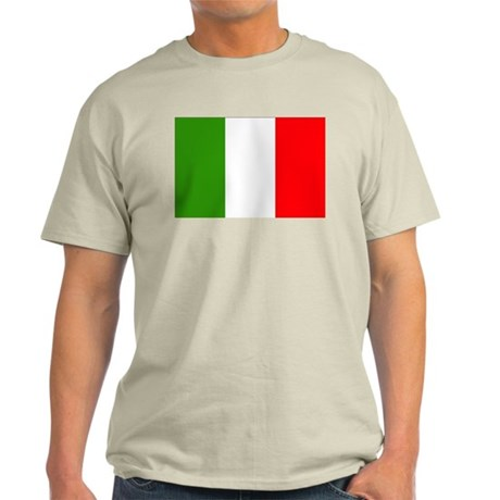 Italian Flag Light T-Shirt