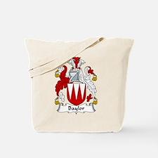 Baylor Family Crest Tote Bag