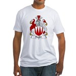 Bayler Family Crest  Fitted T-Shirt