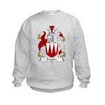 Bayler Family Crest  Kids Sweatshirt