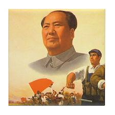 Maoist Revolution Tile Coaster