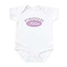 Proud Italian (pink) Infant Bodysuit