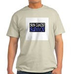 'Skin Cancer Survivor' Light T-Shirt