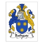 Bathgate Family Crest  Small Poster
