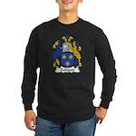 Bathgate Family Crest Long Sleeve Dark T-Shirt
