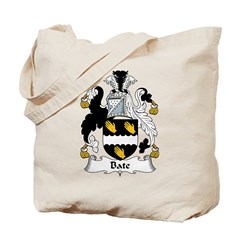 Bate Family Crest Tote Bag