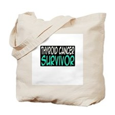 'Thyroid Cancer Survivor' Tote Bag