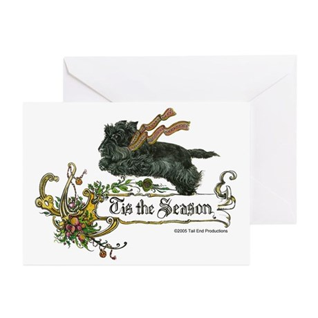 Scottish Terrier Season Greeting Cards (Pk of 20)
