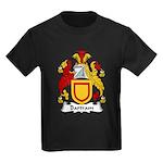 Bartram Family Crest  Kids Dark T-Shirt