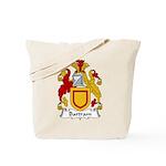 Bartram Family Crest  Tote Bag