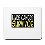 'Liver Cancer Survivor' Mousepad
