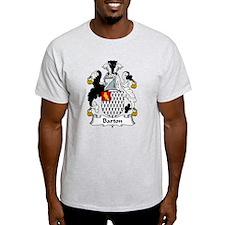Barton Family Crest  T-Shirt