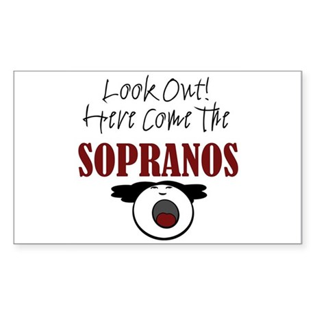 Soprano Rectangle Sticker