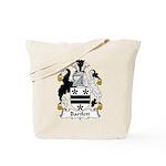 Bartlett Family Crest  Tote Bag