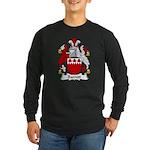 Barrett Family Crest Long Sleeve Dark T-Shirt
