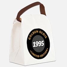 Birthday Born 1995 Limited Editi Canvas Lunch Bag