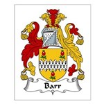 Barr Family Crest Small Poster