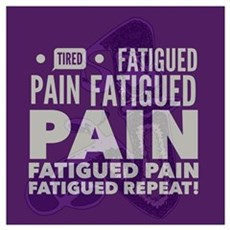 Pain Fatigue Tired  Poster