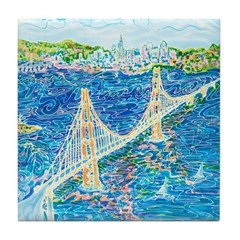 Golden Gate San Francisco Tile Coaster