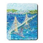 Golden Gate San Francisco Mousepad